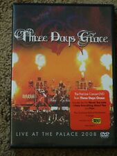 Three Days Grace Live At The Palace 2008 DVD like NEW unplayed EXPLICIT,CONCERT