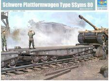 Trumpeter 1/35  Schwere Plattformwagen Type SSym 80 #00221 #221
