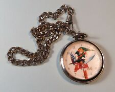 Original 1998 Nintendo The Legend of Zelda N64 Ocarina of Time Pocket Watch RARE