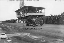Thomas Flyer automobile racing race photo photograph Vanderbilt Cup Race 1908