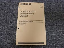Caterpillar Cat C7 On-Highway Engine Owner Operator Maintenance Manual KAL SAP