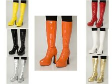 Mens Fancy Dress Platform Boots - Dressing up Kinky Boots for Men - Sizes 7 - 11