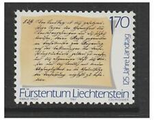 Mint Never Hinged/MNH Single Liechtenstein Stamps