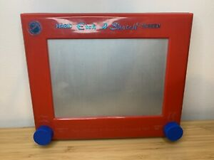 Vintage Etch a Sketch Toy 1980s Peter Pan Playthings Magic Screen VG condition