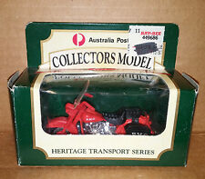 MATCHBOX 1:64 scale Australian Post No 8 PMG Motorbike Heritage Transport Series