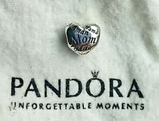 Authentic Pandora Mother's Heart Sterling 791112 Silver Charm Preowned