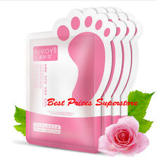 1-100pc Soft Touch Foot Peel Mask Exfoliating Treatment Natural Feet Skin Beauty