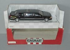 Old Kinsmart 1999 Diecast Lincoln Town Car Stretch Limo Boxed.