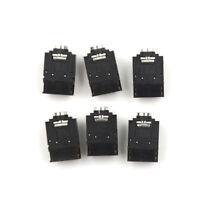 5X  PJ-307 3.5mm Stereo Audio Jack Socket 3.5 Dual Track Headphone Connector _fw