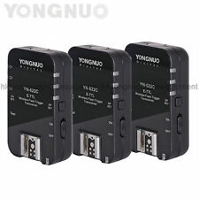 Yongnuo 3pcs YN-622C Wireless HSS TTL Flash Trigger Transceivers for Canon