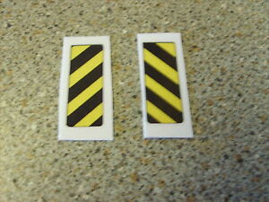 CORGI MAJOR 1138/1148 SCAMMELL/FORD CAR TRANSPORTER TAILGATE STICKERS X2 NEW