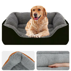 Pet Calming Bed Dog Cat Sleeping Kennel Puppy Soft Mat Pad Warm Nest Washable