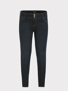 Torrid Jegging Super Stretch Dark Wash Blue 12R #50611