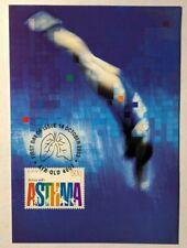 Asthma First Day Post Card 2003 Australia Post Ayr Qld 4807