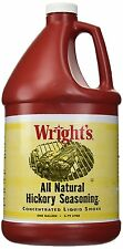 Wright's Liquid Smoke Of Hickory Wood, 1 gal. - Only 2 Calories Per Serving