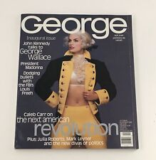 George Magazine October 1995 Madonna & Julia Roberts & George Wallace, No Label