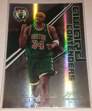 Paul Pierce 2009-10 Playoff Contenders AWARD CONTENDERS BLACK Insert #37/50!