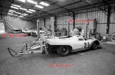GULF PORSCHE 917 Camera Car Steve McQueen Le Mans Film 1971 foto 1