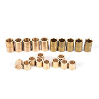 10pcs Billiards Snooker Brass Ferrule Snooker Pool Cue Ferrule Cue Repair ToosSP