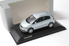 1:43 Minichamps VW Cross Golf 2006 silver-blue DEALER VERSION