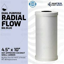 "New listing Dual Purpose Radial Flow Big Blue Size Ge Fxhtc & Pentek Rfc-Bb Replacement, 10"""
