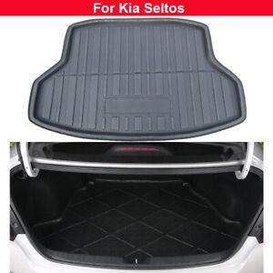 1pcs Rear Trunk Liner Cargo Mat Car Rear Cover Mat For Kia Seltos 2020-2021