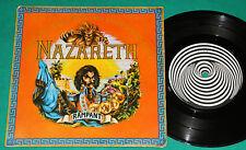 "Nazareth - Rampant BRAZIL ONLY RARE 3 track 7""Ep 1974 Vertigo Swirl"