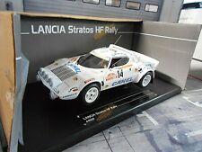 LANCIA Stratos HF Rallye San Remo 1978 #14 Vudafieri Camel Jolly Sunstar 1:18