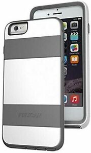 Pelican Voyager Rugged Case iPhone 6+, 6s Plus w/ Kickstand Holster White / Gray