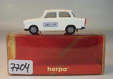 Herpa 1/87 Nr. 3086 Trabant 601 S Limousine Landis & GYR Trabbi OVP #7704