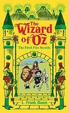 The Wizard of Oz First Five Novels by L Frank Baum Leather Series Collection
