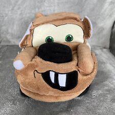 "Disney Store Pixar 14"" Cars Tow Mater Truck Brown Plush Stuffed Animal"