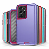 For Samsung Galaxy S21 S21+ Ultra Shockproof Protective Rugged Hard Case Cover