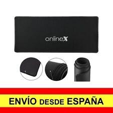 Alfombrilla Teclado y Raton Antideslizante Mouse XXL Gaming Negro a3391