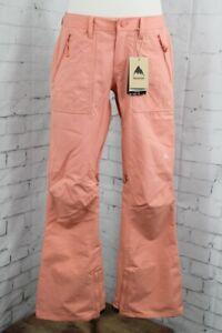 Burton Vida Slim Fit Snowboard Shell Pants, Women's Large, Crabapple Pink New