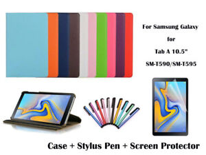 360°Rotate Litchi Grain PU Leather Cover Case for Samsung Galaxy Tab A 10.5