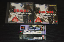 Used PS ONE BIOHAZARD 3 LAST ESCAPE Capcom   SONY PLAYSTATION JAPAN IMPORT