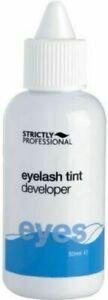 Strictly Professional Eyelash Eyebrow Dye Tint Tinting Peroxide Developer 50ml