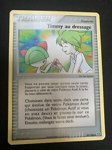 Carte Pokemon Timmy au dressage 85/106