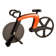 Pizzaschneider Fahrrad Pizza Cutter rostfreier Stahl mit Antihaft-Beschichtung m