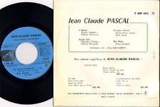 """JEAN CLAUDE PASCAL """"SACREE FILLE"""" 60'S EP LA VOIX DE SON MAITRE 485"""