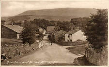 Downham & Pendle Hill # 71187 by Frith for W. Briggs, Post Office, Downham.