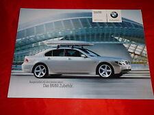 BMW 7er E65 Zubehör Prospekt + Preisliste von 2003