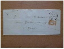 Letter Luxeuil 1847 Port Paid