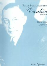 Vocalise Op. 34 No. 14 Sheet Music BH Piano NEW 048009319