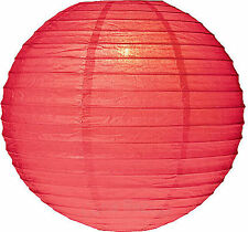"""12 Red 12"""" Paper Chinese Lantern Lamp Shade Wedding Party Decoration Supplies"""