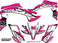 RAPTOR 250 YAMAHA GRAPHICS KIT DECO STICKERS ATV QUAD 4 WHEELER FOUR