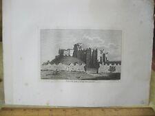 Vintage Print,KEEP OFF CASTLE CARDIFF,Grose's Antiquities England,c1790