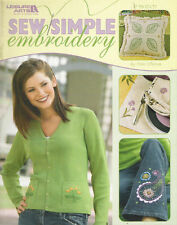 SEW SIMPLE EMBROIDERY ~ PATTERNS ~ NEW ~ ON SALE