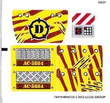 LEGO 5884 - DINO - Raptor Chase - STICKER SHEET
